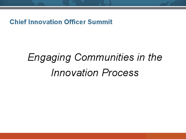 Engaging Communities in the Innovation Process image