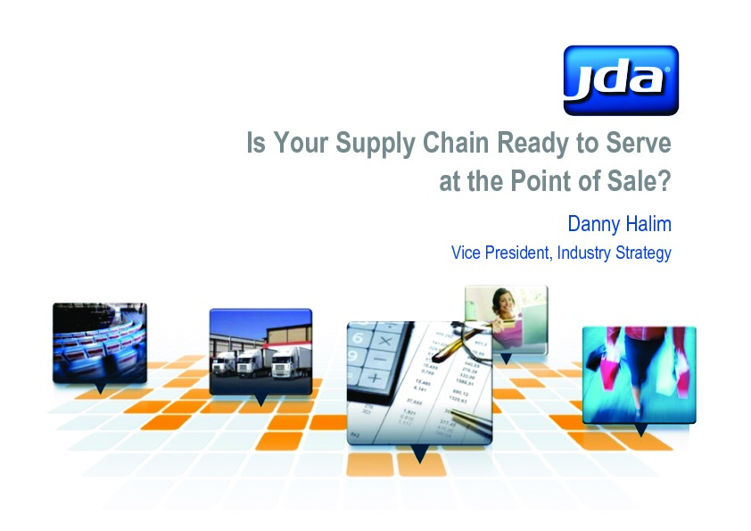 Is Your Supply Chain Ready to Serve at the Point of Sale? image