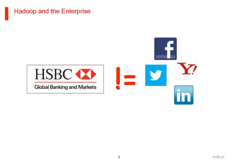 HSBC's Big Data Journey | Presentations | Chief Data Officer