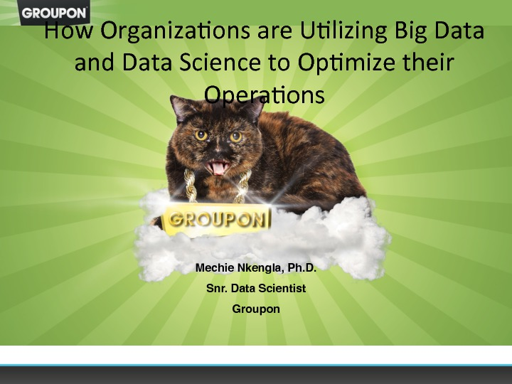 How Organizations are Utilizing Big Data and Data Science to Optimize their Operations