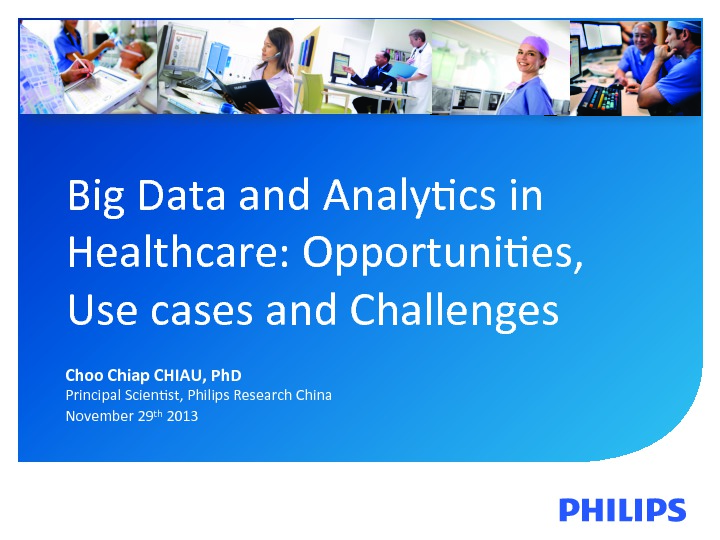 On Demand Presentations Big Data And Analytics In