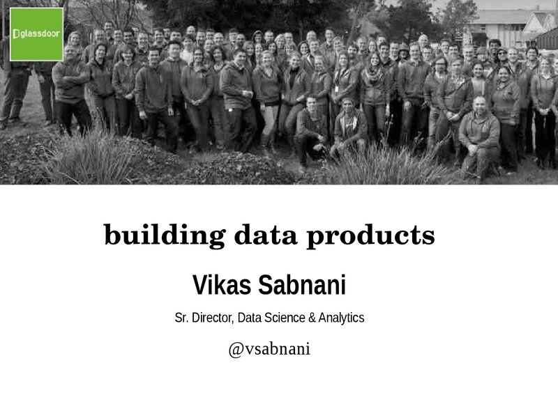 Building Data Products - There's more to it that just Data image