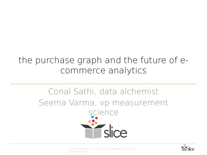 The Purchase Graph and the Future of E-Commerce Analytics