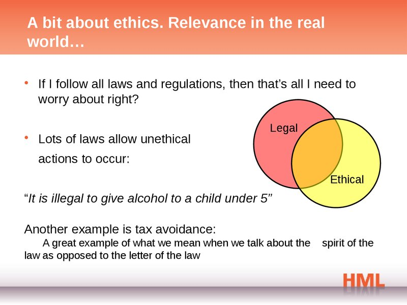 personal perspective on ethics Personal perspectives: iaesb member sidharta utama 0 0 ratings 0 reviews rate/comment this perspective, no accounting education is complete without values, ethics, & attitudes , is from dr sidharta utama , iaesb member and professor at faculty of economics and business, university of indonesia.