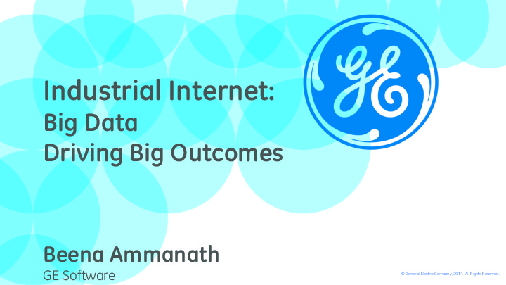 Ge Industrial Internet How Useful Will Servicemax Be In