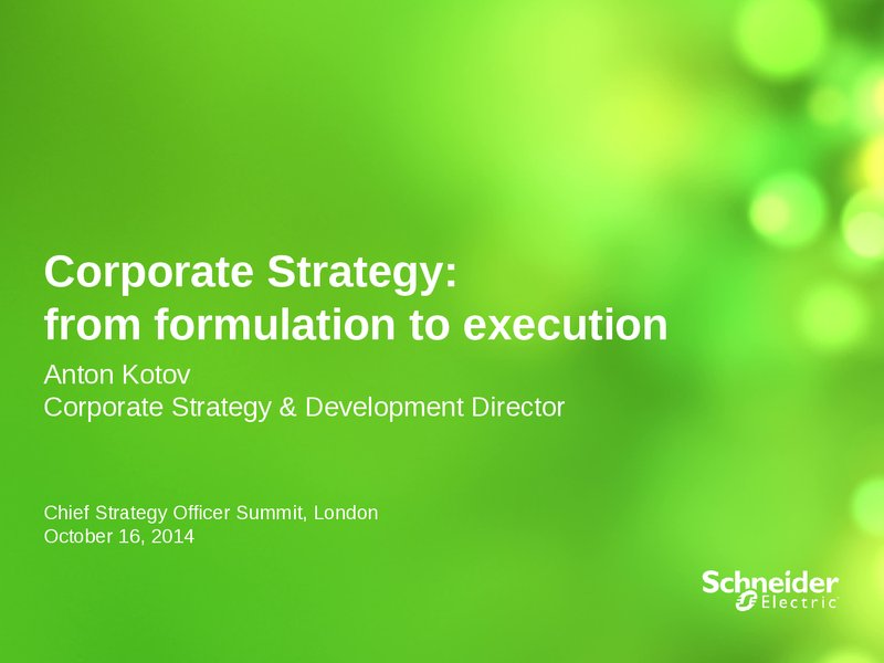corporate culture and the effective execution Five reasons most companies fail at strategy most companies fail at strategy execution leadership gives rise to a change-averse corporate culture.