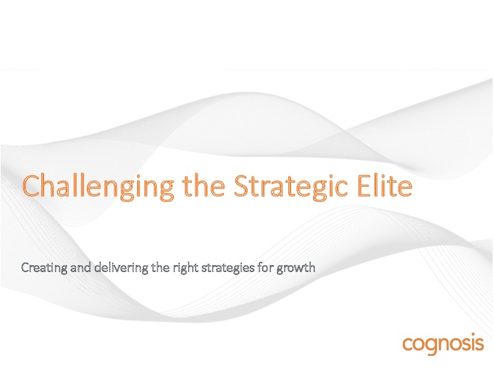 Challenging the Strategic Elite