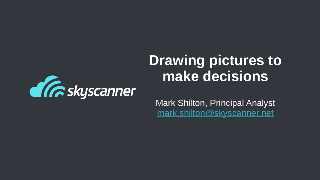 Drawing Pictures to Make Decisions presentation image