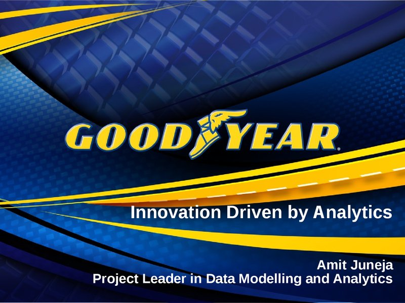 Driving Innovation with Data Science