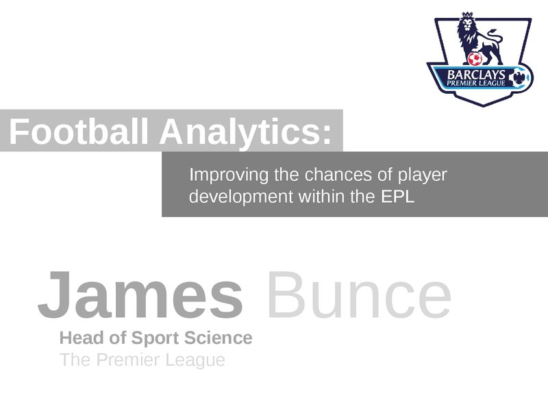Football Analytics: Improving The Chances Of Player