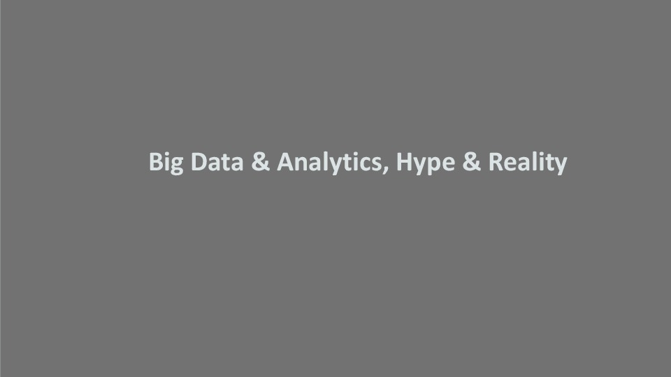 On Demand | Presentations | Big Data Challenges and