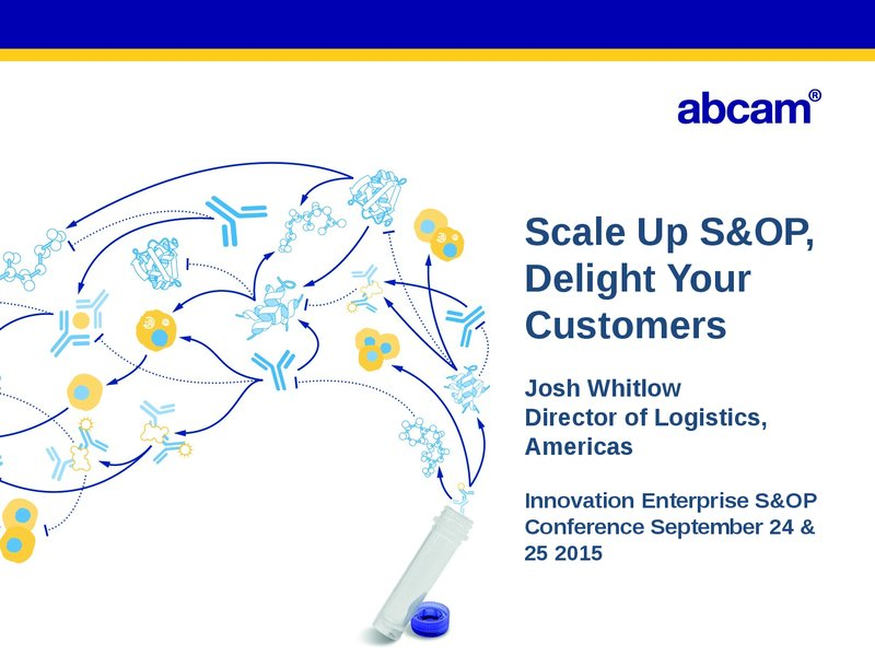 On Demand | Presentations | Scale Up S&OP And Delight Your