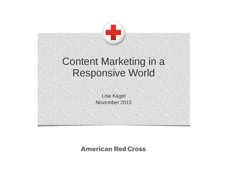 How to Approach Content Marketing in a Responsive World