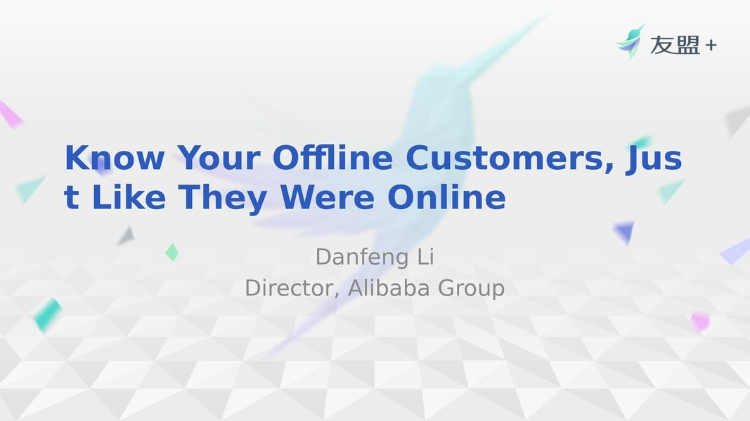 Know, Understand and Reach your offline Customers, Just Like They were Online image