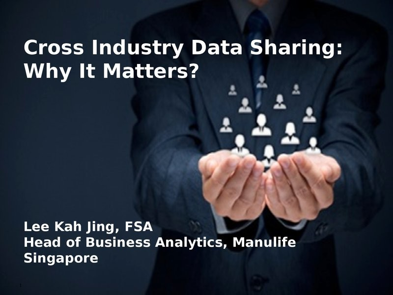 Cross Industry Analytics: Why It Matters?  presentation image