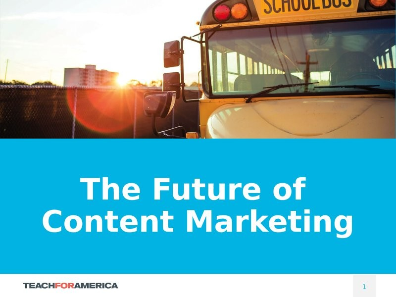 The Future of Content Marketing