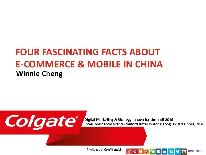 Four Fascinating Facts About eCommerce & Mobile in China