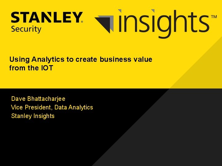 Using Analytics to Create Business Value from the Internet of Things image
