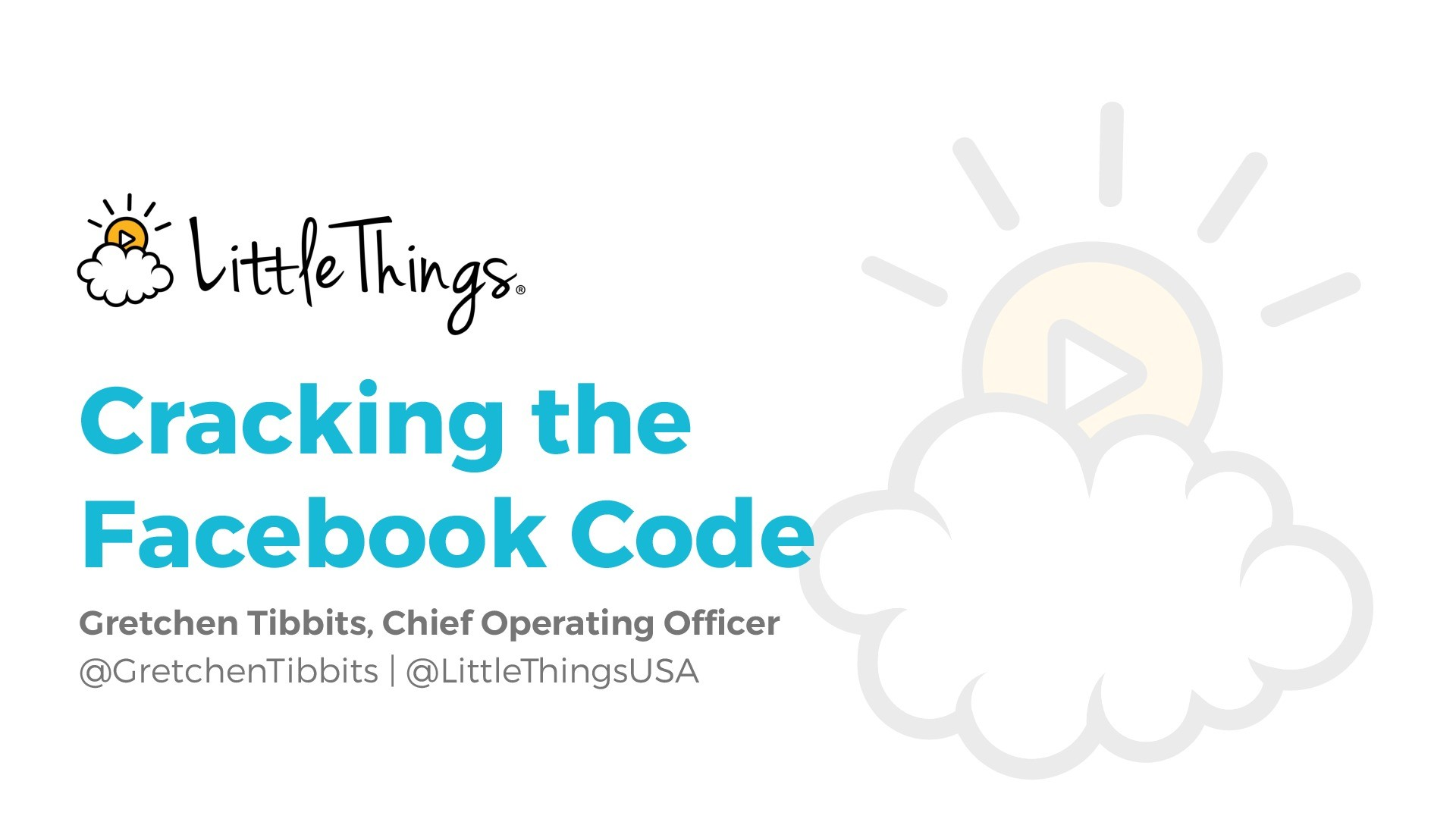 Cracking the Facebook Code – How to Drive Engagement Through Positive Publishing