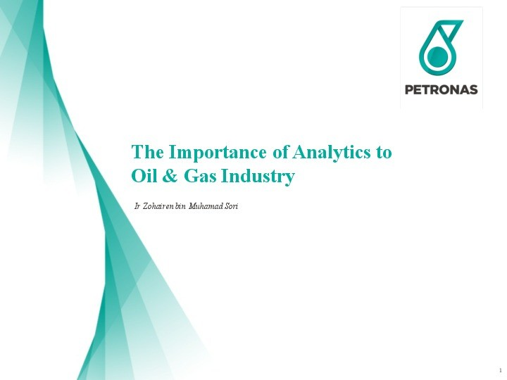 The Importance of Analytics to Oil & Gas Industry presentation image