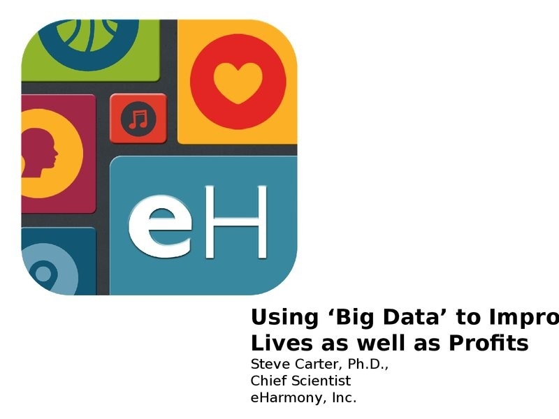 Using Big Data To Improve Lives As Well As Profits image