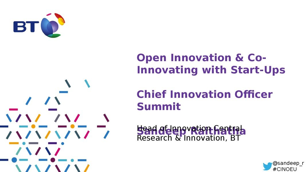 Open Innovation & Co-Innovating with Start-Ups image