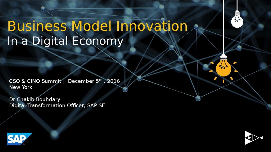 Re-Imagine Business Models: Navigating Your Company in Today's New Reality