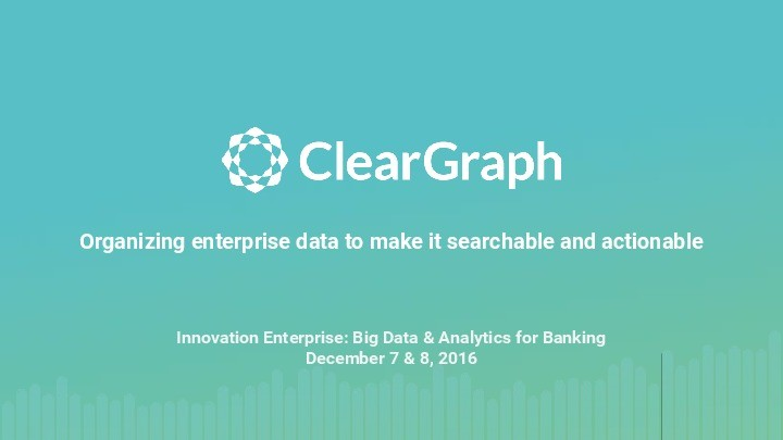 Intro to Cleargraph presentation image