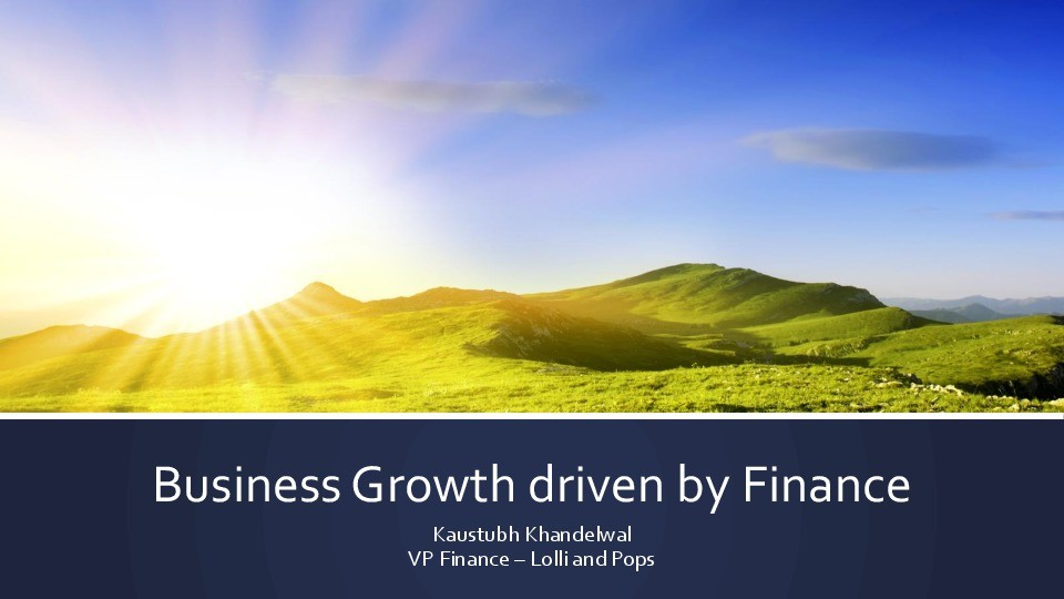 Business Growth with Finance image