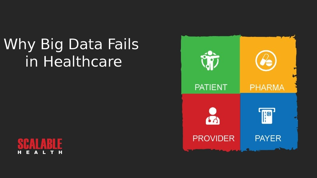 Why Big Data Projects Fail In Healthcare presentation image