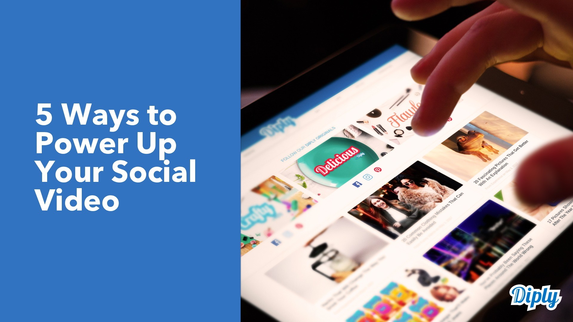 5 Ways to Power Up Your Social Video presentation image