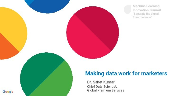 Making Data Work for Marketers