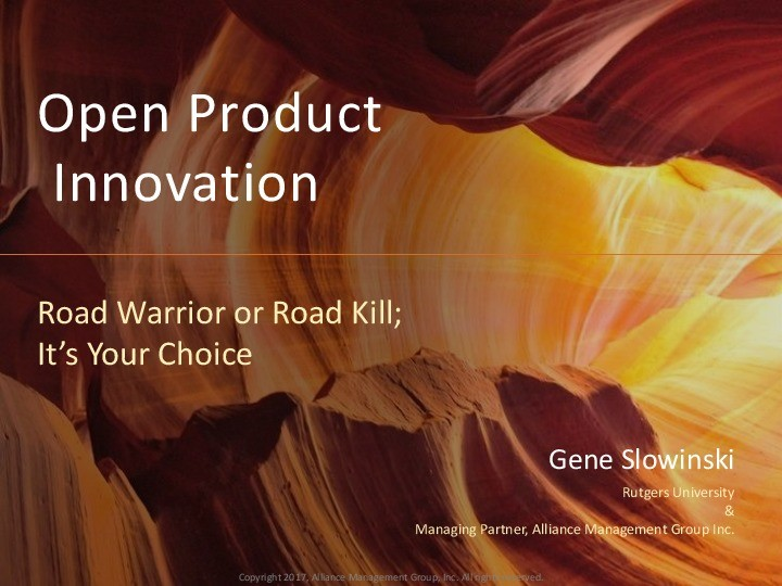 Open Product Development: Road Warrior or Road Kill; It's your Choice