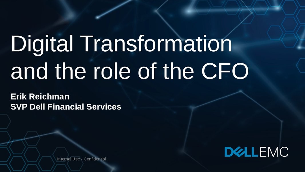 Digital Transformation and the Role of the CFO