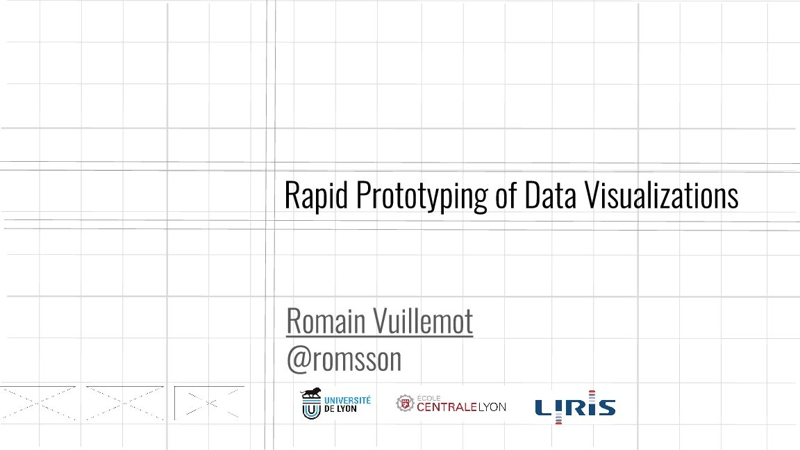 Rapid Prototyping of Data Visualizations image