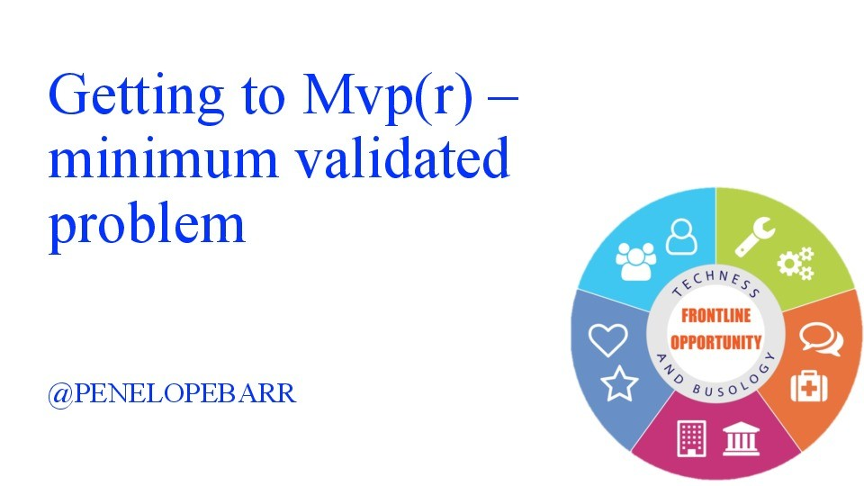 Getting to MVP – Minimum Validated Problem image