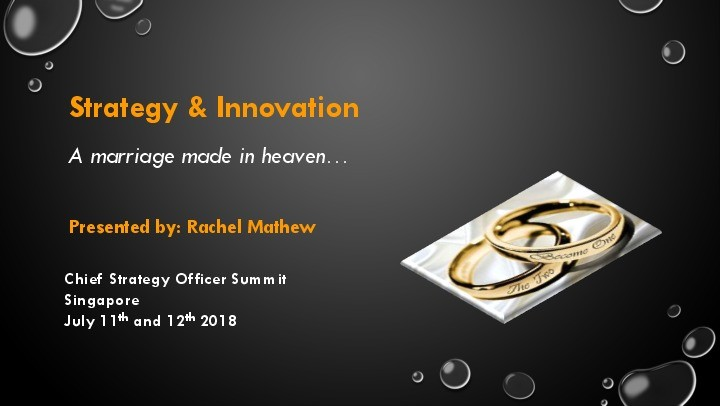 Strategy and Innovation – A Marriage Made in Heaven image