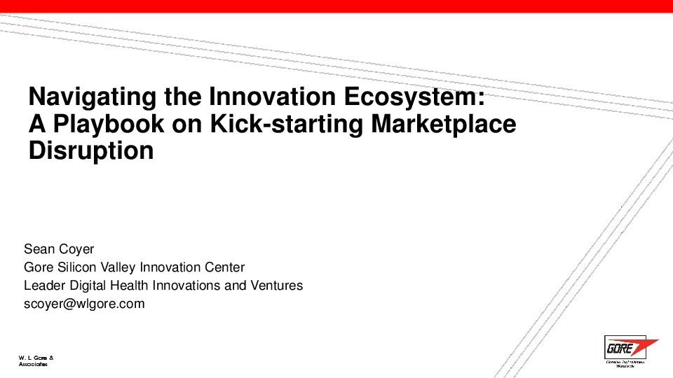 Navigating the Innovation Ecosystem: A Playbook on Kick-Starting Marketplace Disruption image