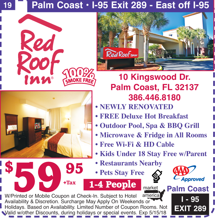 Red Roof Inn 10 Kingswood Dr Palm Coast Fl 32137