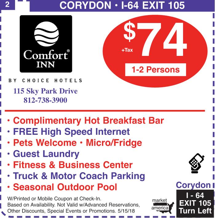 Comfort Inn At The Park Comfort Inn 115 Sky Park Dr