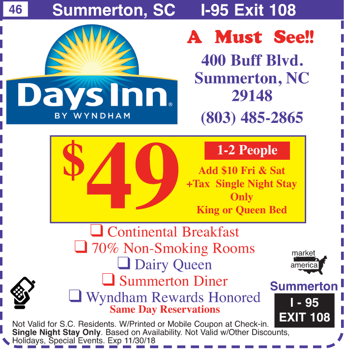 Days Inn Hotel Coupons