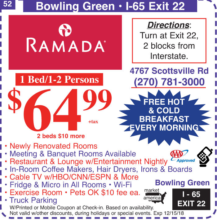 Ramada discount coupons