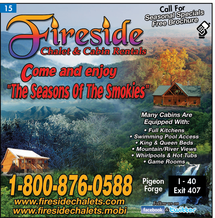 Fireside Chalet And Cabin Rental 2612 High Valley Dr Pigeon Forge