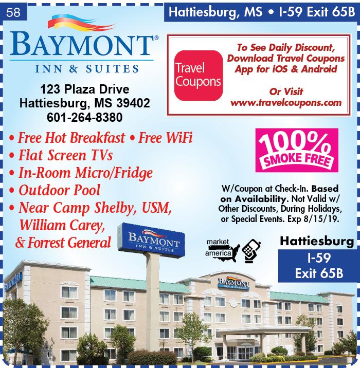 Baymont By Wyndham 123 Plaza Drive Hattiesburg Ms