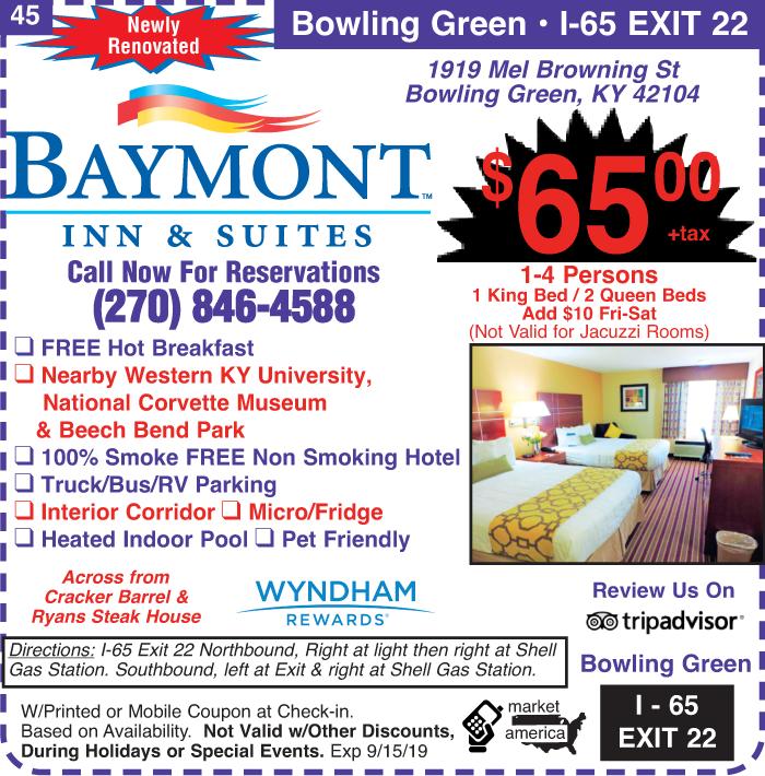 Baymont by Wyndham - 1919 Mel Browning St, Bowling