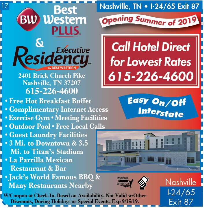 Best Western Plus 2401 Brick Church Pike Nashville Tn 37207