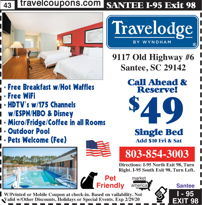 D sc travelodge i 95x98