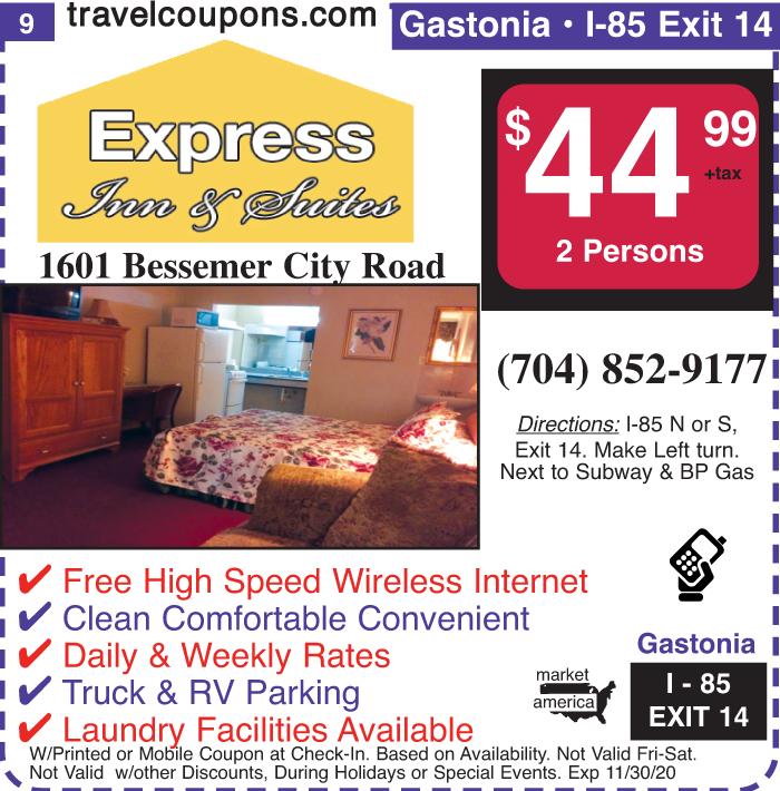 C nc express i 85x14