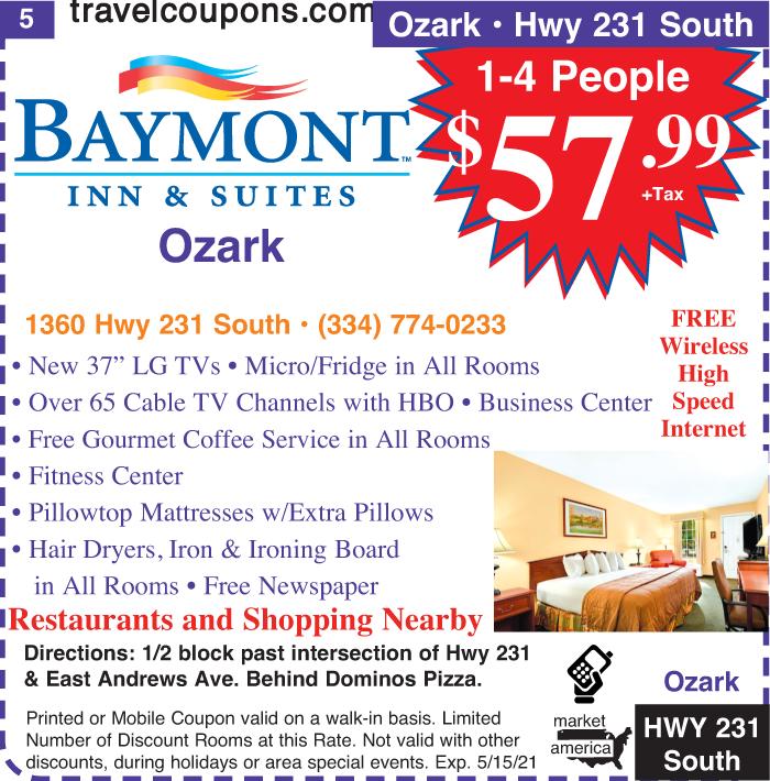 A al baymontis hwy231