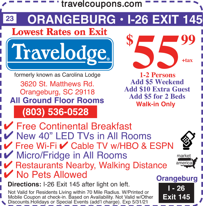 A sc travelodge i 26x145a